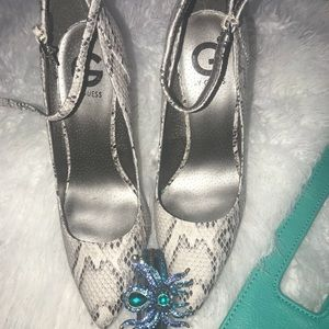 G by Guess snake print shoes